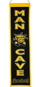 Winning Streak NCAA Wichita State Man Cave Banner