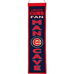 Winning Streak MLB Chicago Cubs Man Cave Banner