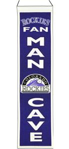 Winning Streak MLB Rockies Man Cave Banner