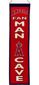 Winning Streak MLB LA Angels Man Cave Banner