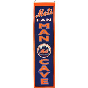 Winning Streak MLB New York Mets Man Cave Banner
