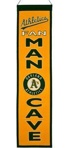 Winning Streak MLB Oakland A's Man Cave Banner