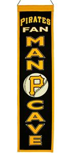 Winning Streak MLB Pirates Man Cave Banner