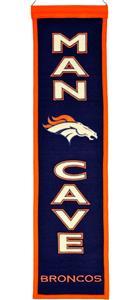 Winning Streak NFL Denver Broncos Man Cave Banner