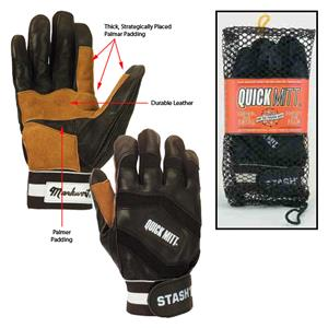 Markwort Quickmitt Baseball Batting Gloves/Mitt-PR