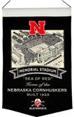 Winning Streak NCAA Nebraska Stadium Banner