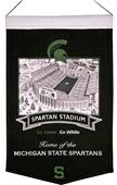 Winning Streak NCAA Michigan State Stadium Banner