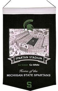 Winning Streak NCAA Michigan State Stadium Banner