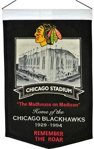 Winning Streak NHL Chicago Stadium Banner