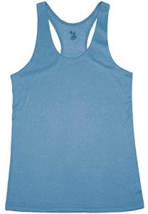 Badger Ladies' Pro Heather Racerback Tank Shirt