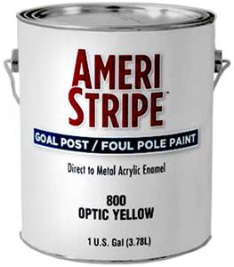 Ameri-Stripe Goal Post Foul Pole Gal. Yellow Paint