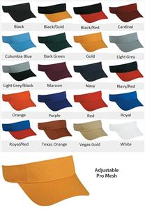 PRO Series Adjustable Mesh Visor 20 Colors