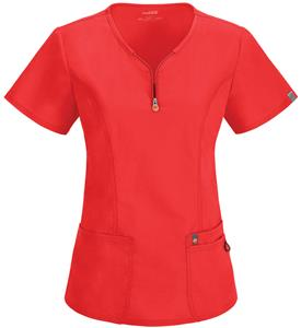Code Happy Womens Bliss V-Neck Scrub Tops