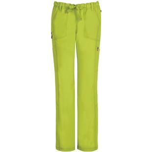 Code Happy Womens Drawstring Cargo Scrub Pants AB