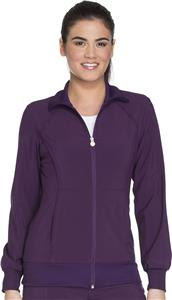 Cherokee Women's Zip Front Warm-up Jacket