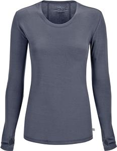 Cherokee Women's Long Sleeve Knit Tee