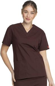 Dickies Missy Fit V-Neck Scrub Top