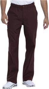 Dickies Men's Zip Fly Pull-On Scrub Pants