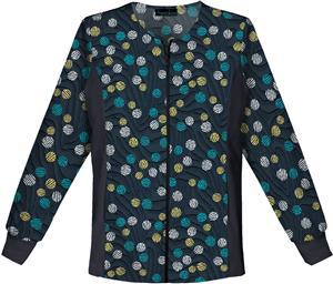 Cherokee Women Zip Front Warm-Up Scrub Jacket