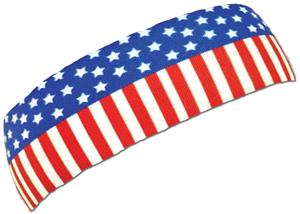 Red Lion US Flag Headbands