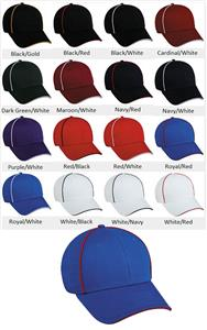 Team Style Adjustable Cotton Twill Baseball Cap
