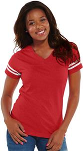 LAT Sportswear Ladies Vintage Football Tee