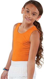 LAT Sportswear Girls Fine Jersey Tank Top