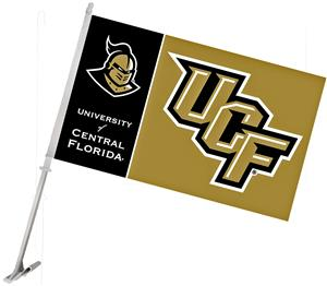 COLLEGIATE Central Florida 2-Sided Car Flag