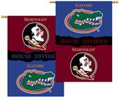 COLLEGIATE Florida/Florida St House Divided Banner