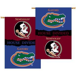 COLLEGIATE Florida/Florida St House Divided Banner