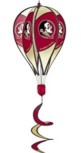 COLLEGIATE Florida State Hot Air Balloon Spinner