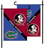 COLLEGIATE Florida/Florida St. House Divided Flag