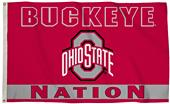COLLEGIATE Ohio State Nation 3' x 5' Flag