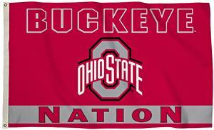 COLLEGIATE Ohio State Nation 3' x 5' Flag