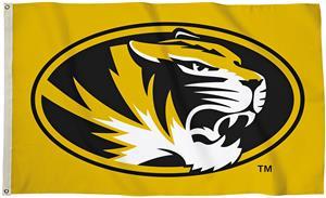COLLEGIATE Missouri Tigers 3' x 5' Flag W/Grommets