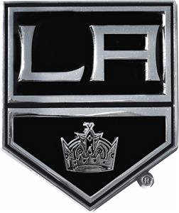 Fan Mats NHL Los Angeles Kings Vehicle Emblem