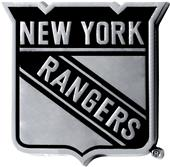 Fan Mats NHL New York Rangers Vehicle Emblem