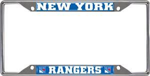 NHL New York Rangers License Plate Frame