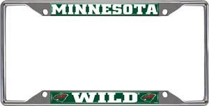 NHL Minnesota Wild License Plate Frame