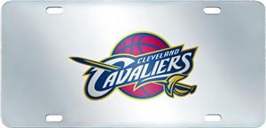 NBA Cleveland Cavaliers License Plate Inlaid