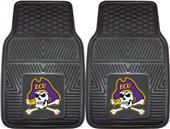 Fan Mats East Carolina University Car Mats (set)
