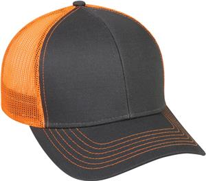 OC Sports Team Style Adj. Mesh Back Baseball Cap