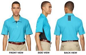 Adidas Golf Puremotion 3-Stripes Mens Polo Shirt