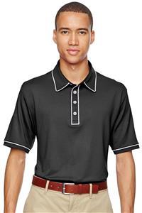 Adidas Golf Puremotion Piped Mens Polo Shirt