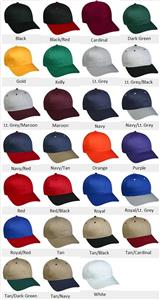 Adjustable Double Snap Closure Baseball Cap