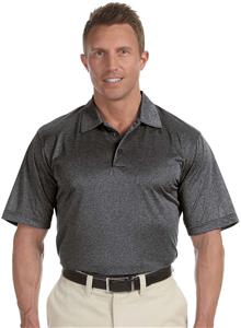 Adidas Golf Mens Climalite Heather Polo Shirt