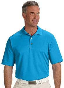 Adidas Golf Mens Climalite Solid Polo Shirt