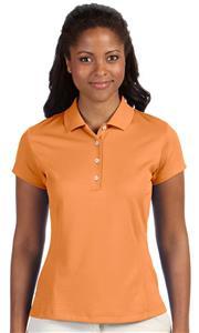 Adidas Golf Ladies Climalite Solid Polo Shirt