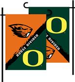 COLLEGIATE Oregon/Oregon State House Divided Flag