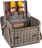 Picnic Time Anthology Kabrio Wine & Cheese Basket
